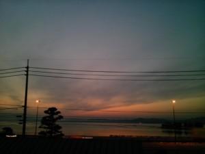 sunset 20110223